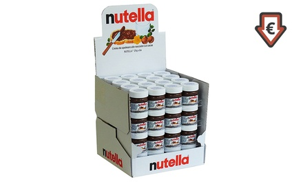 Destockage: Nutella® : 24, 36 ou 64 Nutellino de 25g