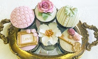 Three-Hour Cupcake Decorating Workshop with Afternoon Tea for One or Two at April Delights