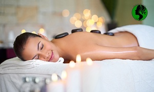 Artistic Beauty - Skin, Body and Nails: $49 for a Hot Stone Massage and Microdermabrasion Facial at Artistic Beauty - Skin, Body and Nails ($160 Value)