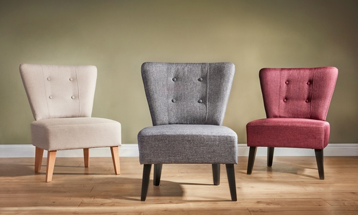 Contemporary Accent Chairs Groupon Goods