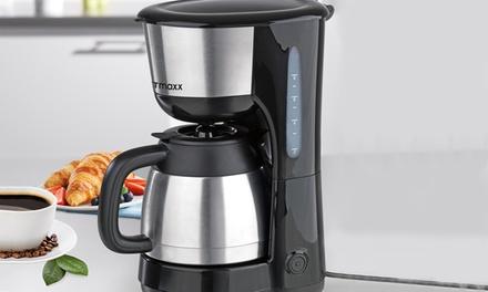 gourmetmaxx filterkaffeemaschine mit thermoskanne deutschland deals und t gliche angebote. Black Bedroom Furniture Sets. Home Design Ideas