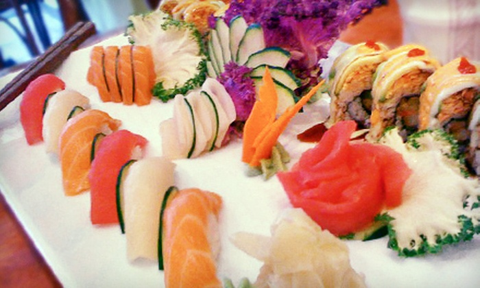 Bendoya Sushi Bar - Central Business District: Sushi and Japanese Cuisine at Bendoya Sushi Bar (52% Off). Two Options Available.