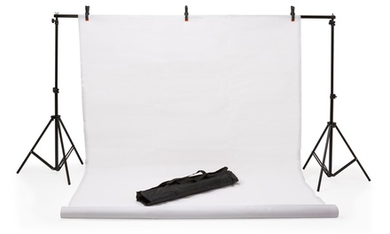 Photography Background £29.99 or Portable Photo Booth/Tent with Lighting £37.99 With Free Delivery