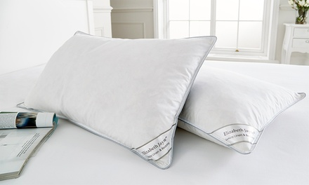 Two, Four or Eight Goose Feather- and Down-Filled Pillows