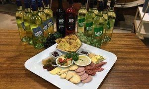 Willow Point Wines: Wine Tasting + Sharing Plate & Take Home Bottles for 2 ($29) or 4 People ($59) at Willow Point Wines (Up to $174 Value)