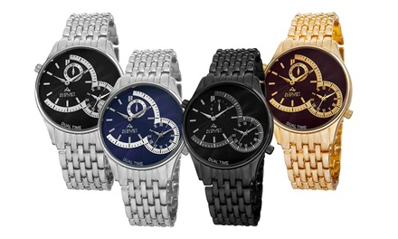 August Steiner Dual Time Watches