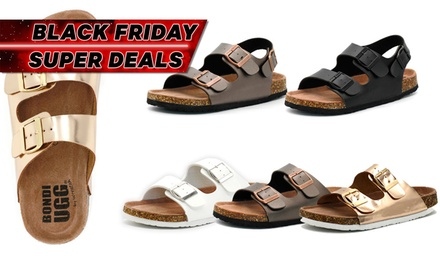 $39 for Bondi Ugg Clovelly or Coogee Sandals (Don't pay up to $139)