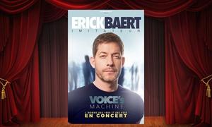 DH Management: 2 places en placement libre pour Erick Baert, le samedi 27 janvier 2018 à 20h30 à 35 € au Kabaret à Tinqueux