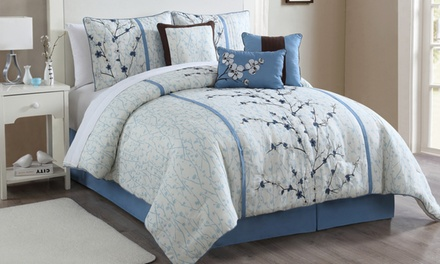 Closeout: Comforter Set (6- or 7-Piece)