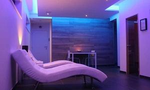 Q Wellness: 3 uur privé-sauna incl. fles cava voor 2 personen bij Q Wellness Oost-Vlaanderen aan €99