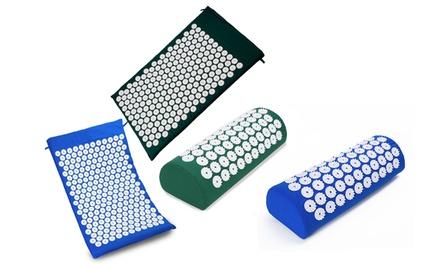 Tappeto o cuscino per agopuntura e yoga Eglem, disponibili in 2 colori