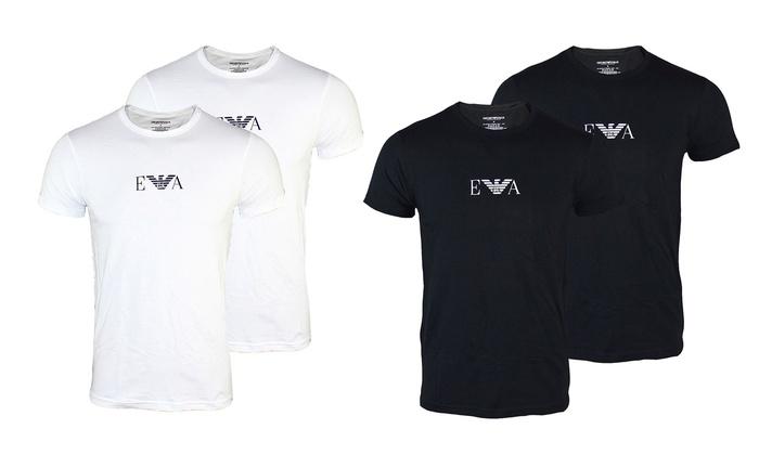 Jusqu à 27% Lot de t-shirts Armani pour homme   Groupon c650c219051