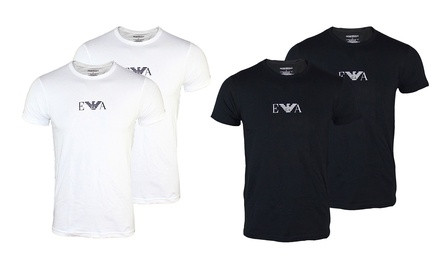Two-Pack of Emporio Armani Mens T-Shirts