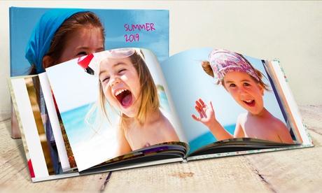 Fotolibro de tapa dura formato A5 paisaje con 20 páginas (envío no incluido) con Printer Pix (95% de descuento)