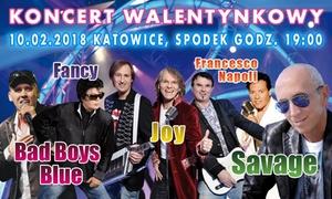 Solaris Music: 109 zł: bilet na koncert walentynkowy Bad Boys Blue, Fancy, Joy i inni w Spodku w Katowicach (zamiast 159 zł)