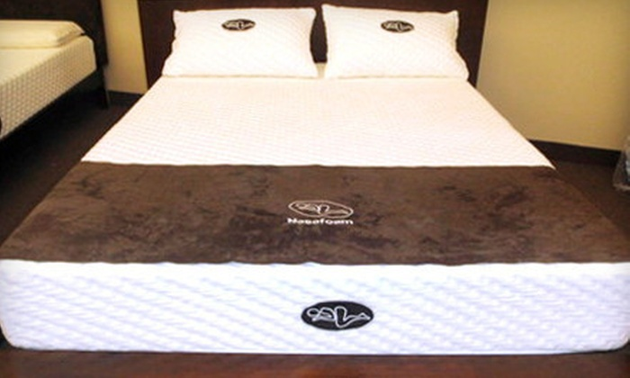 Nasafoam: Twin-, Double-, Queen-, or King-Size Original or Deluxe Memory-Foam Mattress from Nasafoam (Up to 75% Off)