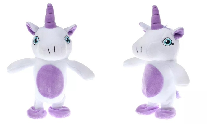 Up To 54 Off Interactive Unicorn Toy Groupon