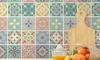 Walplus 24-Piece Tile Stickers