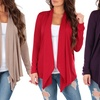 Women's Draped Hacci Cardigan. Plus Sizes Available.