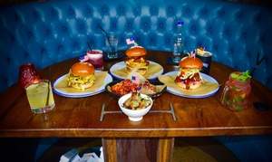 Wall of Fame Bar and Kitchen: Burger and Cocktail or Pint of Craft Beer for One, Two or Four at Wall of Fame Bar and Kitchen (Up to 67% Off)