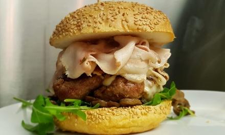 Menu hamburger sulla Treviso Mare a 23,90euro