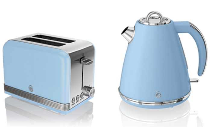 Swan Retro Jug Kettle And Toaster