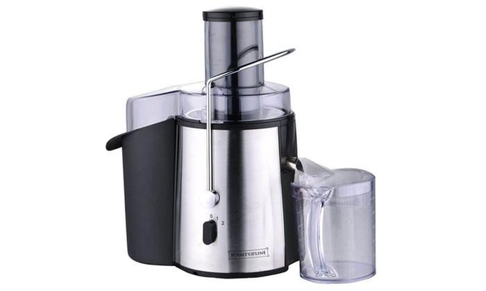 Slow Juicer Deal : Royalty line slow juicer 700 W Groupon Goods