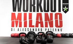 WORKOUT MILANO: 3 o 12 mesi di palestra da Workout Milano (sconto fino a 75%)