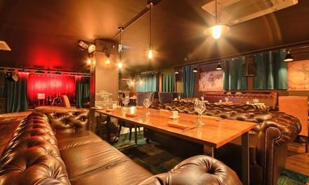 Dîner-spectacle avec entrée, plat et dessert pour 2 personnes à 59,90 € au restaurant L'Étage