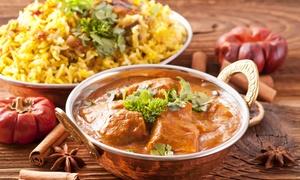 Mirchi Indian Restaurante: Menú indio para 2 o 4 con entrante, principal, postre y bebida desde 19,95 € en Mirchi Indian Restaurante