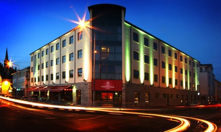 Co. Donegal: 13 Nights for Two with Breakfast and Hot Drink and Muffin on Arrival at Station House Hotel Letterkenny