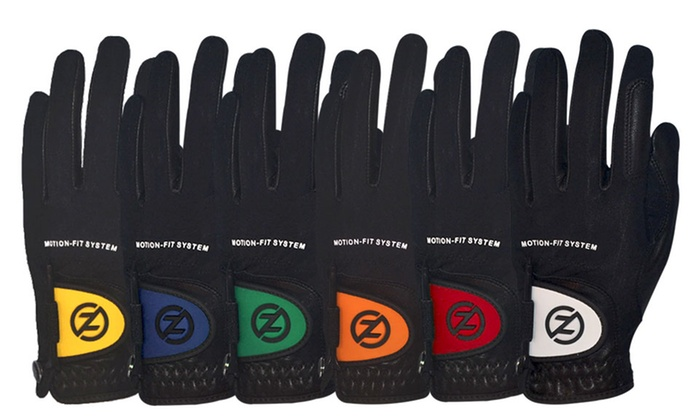 Zero Friction Motion-Fit Golf Gloves