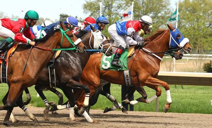 image for Horse-Racing Package for Four at Monmouth Park Racetrack (May 5–September 9)