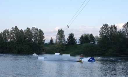 Up to 49% Off wakeboarding at Valley Wake Park