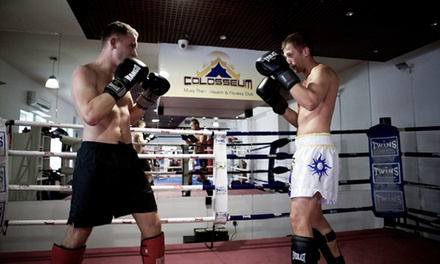 10, 15 or 20 Muay Thai Group Training Sessions at Colosseum Muay Thai Health & Fitness Club