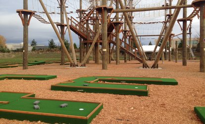 image for One 18-Hole Round of <strong>Mini Golf</strong> for Two, Four, or Six People at High Trek Adventures (Up to 41% Off)