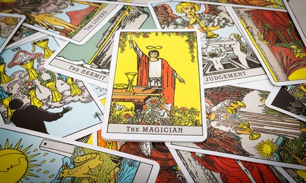 $15 for 12-Month Tarot Card Reading from Master Tarot (Up to $75.52 Value)