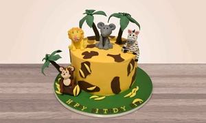 Hey Sugar: Customised Cake for Up to 30 at Hey Sugar (50% Off)