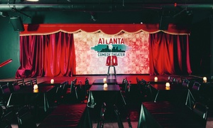 Atlanta Comedy Theater –  Up to 67% Off Standup Comedy at Atlanta Comedy Theater, plus 6.0% Cash Back from Ebates.