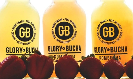 Kombucha Tasting for Two or Four with Flights and 10% Off New Bottle Purchase at Glory Bucha (Up to 40%...