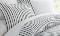 Merit Linens Printed 3-Piece Microfiber Duvet Cover Set