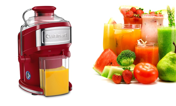Cuisinart CJE-500 Compact Juice Extractor: $94.99 for a Cuisinart CJE-500 Compact Juice Extractor ($185 List Price). Free Shipping and Returns.