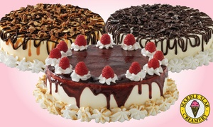 Marble Slab - Rolling Oaks Mall: Small, Medium, or Large Ice-Cream Cake at Marble Slab Creamery (Up to 50% Off)