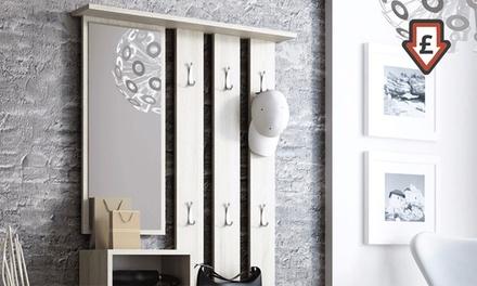 amber hallway set