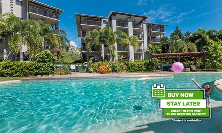 Trinity Beach, QLD: 3-to 7-Night Apartment Stay with Wine and Late Check-Out at the 4* Blue Lagoon Resort