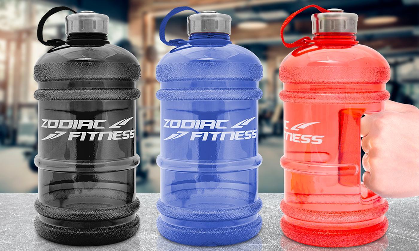Zodiac Fitness 2.2L Water Bottle