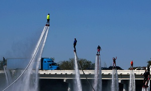 Skyhigh FlyBoards: Flyboarding, Hoverboarding, or Water-Jetpack Session for One or Two at Skyhigh FlyBoards (Up to 40% Off)