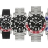 Croton Men's Deep Sea Stainless Steel Dive Watches