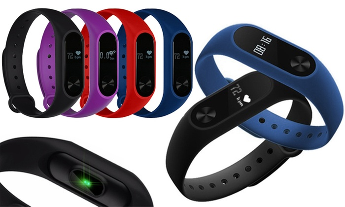Aquarius AQ112 Fitness Tracker with Heart Rate Monitor
