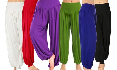 Yoga-Pants Haremshose für Damen in der Farbe und Größe nach Wahl
